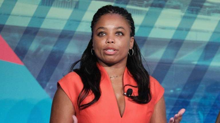 Co-host ESPN2's His & Hers Jemele Hill speaks