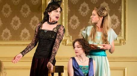 Elizabeth McGovern, Brooke Bloom and Charlotte Parry in
