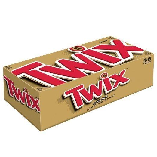 Twix: 5,002 pounds