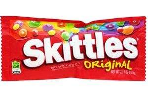 Skittles: 1,574,770 pounds