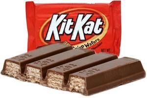 Kit Kat: 172,663 pounds
