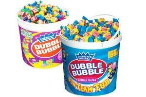 Dubble Bubble Gum: 20,583 pounds