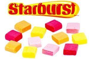 Starburst: 69,692 pounds