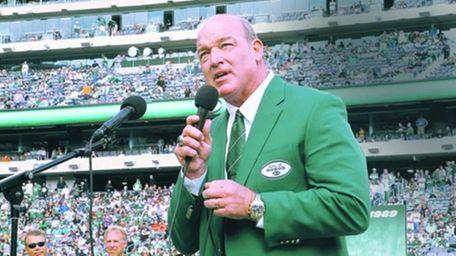 Marty Lyons, former Jets defensive lineman, in October