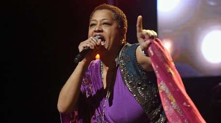 Lisa Fischer and her band, Grand Baton, will