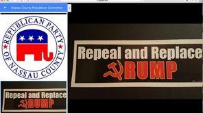 A Google search of the Nassau County Republican