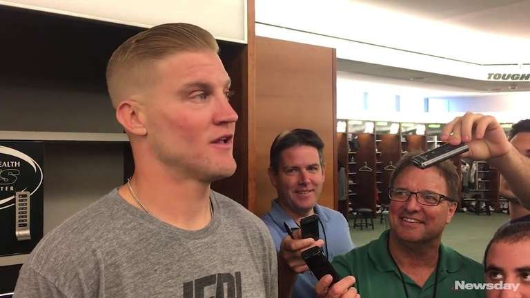 Jets quarterback Josh McCown talks about facing the