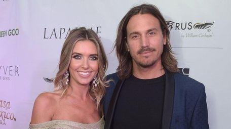 Reality-TV star Audrina Patridge and her estranged husband,