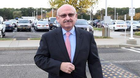 Former North Hempstead Democratic Party leader Gerard Terry