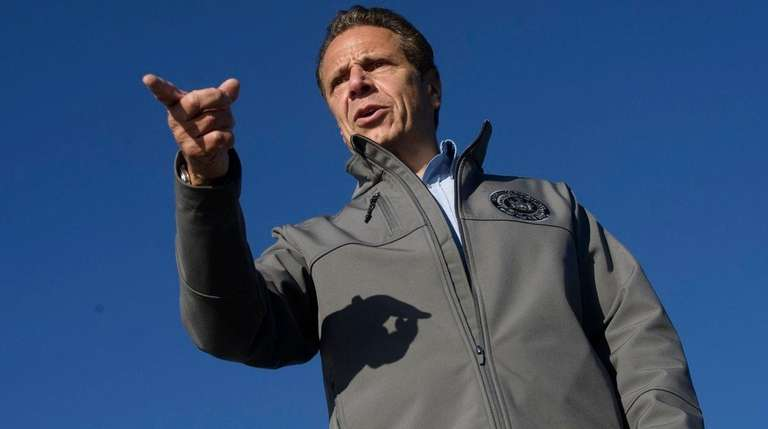 Gov. Andrew M. Cuomo, seen here on Oct.