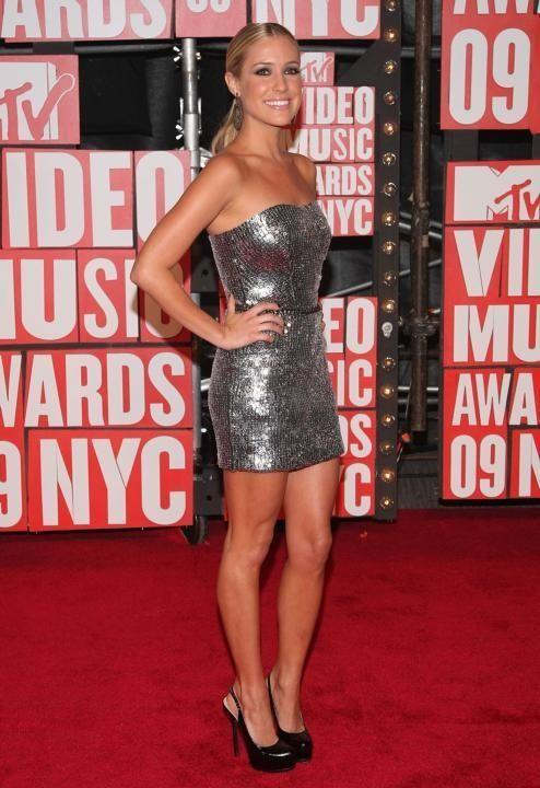 Kristin Cavallari arrives at the 2009 MTV Video