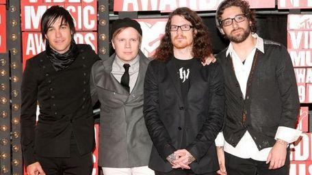 Pete Wentz, Andy Hurley, Patrick Stump and Joe