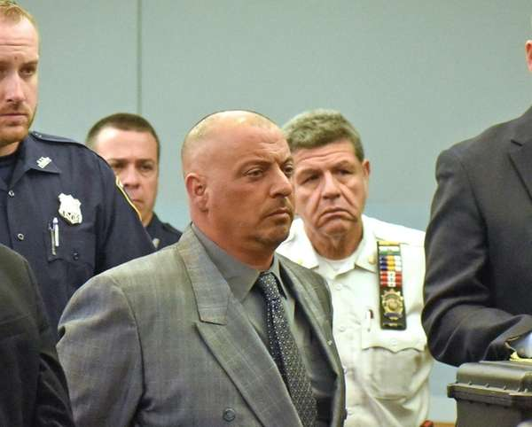 One of the defendants, Thomas Datre Jr., shown