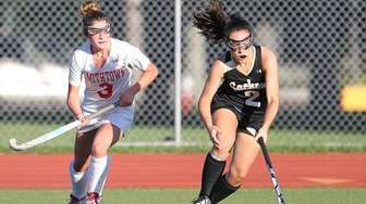 Smithtown East's Isabella Costa and Sachem North's Cassidy