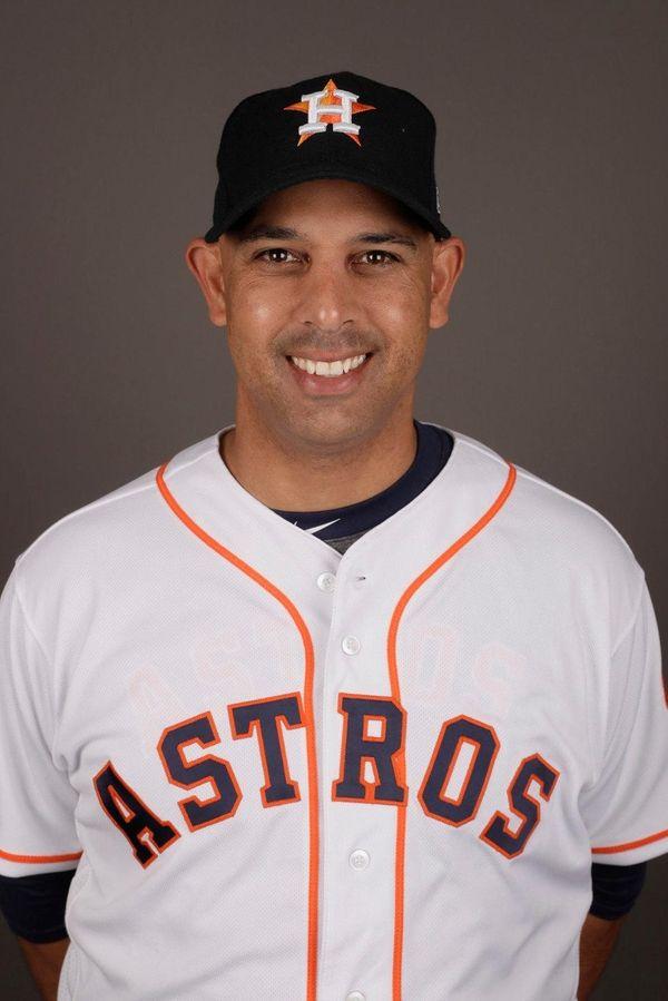 Alex Cora of the Astros.