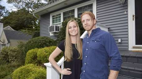 Amanda and Kevin Smith at their Huntington Station
