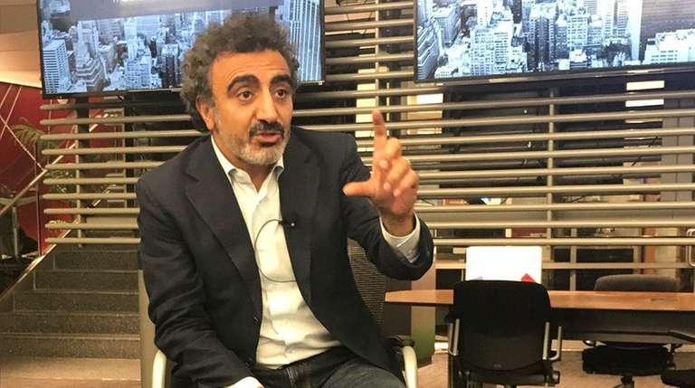 Hamdi Ulukaya, the founder of Chobani yogurt, says
