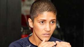 Cindy Serrano held an open workout on Oct.