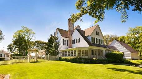 The property, which sits on the Nissequogue River,