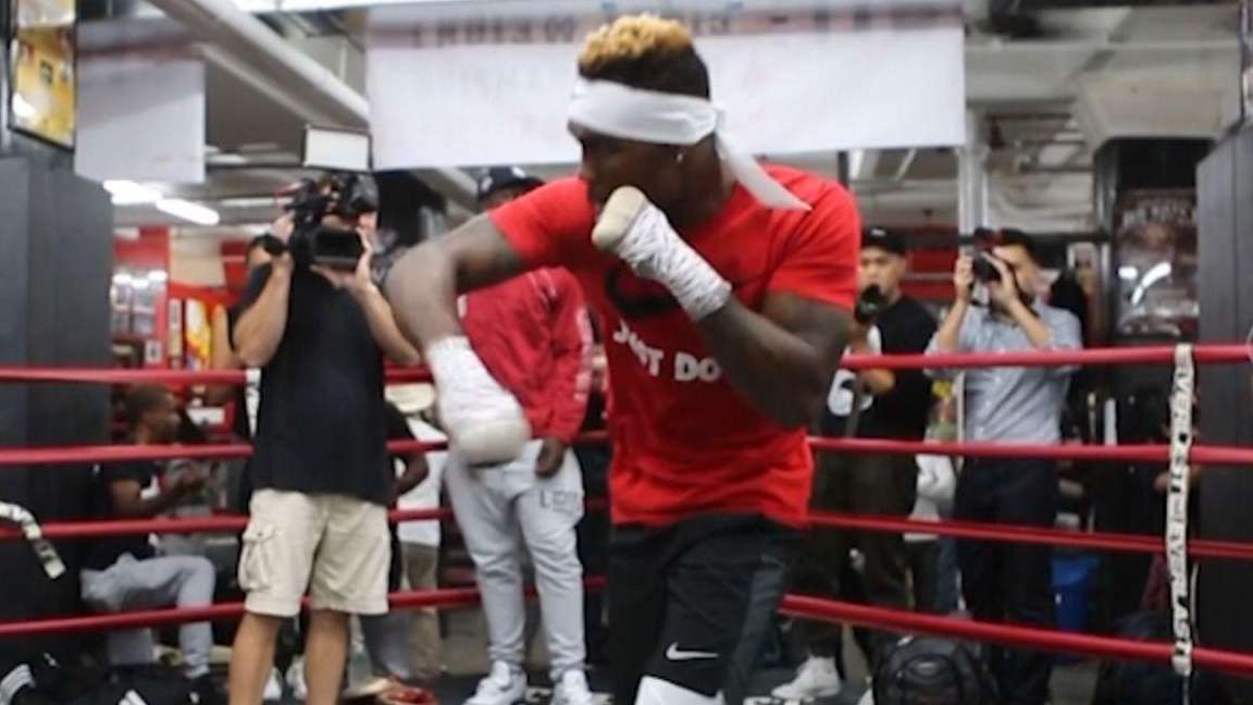 WBC super welterweight champion Jermell Charlo, WBA super