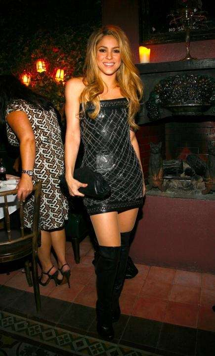 NEW YORK - SEPTEMBER 13: Shakira attends a