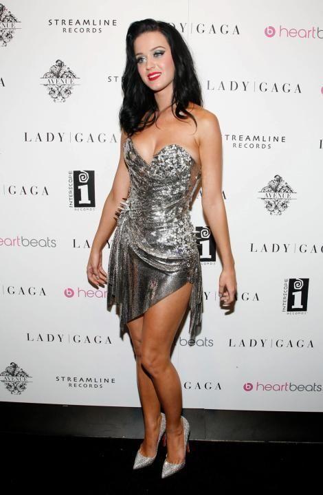 NEW YORK - SEPTEMBER 13: Singer Katy Perry