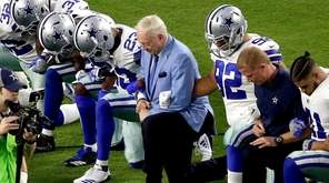 The Dallas Cowboys, led by owner Jerry Jones