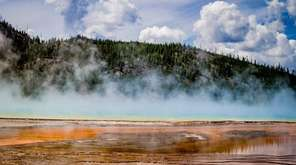 A stunning view in Yellowstone National Park.