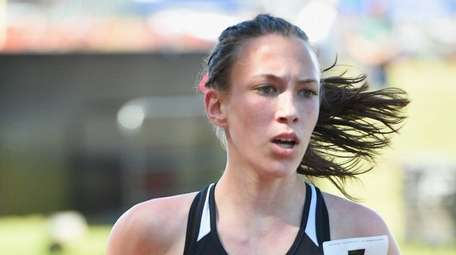 Noreen Guilfoyle competes in the Division III 2,000-meter