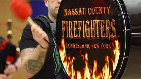 The Nassau County Firefighters Pipes and Drums Band
