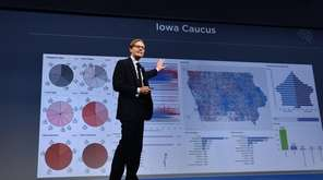 Cambridge Analytica chief executive Alexander Nix speaks during