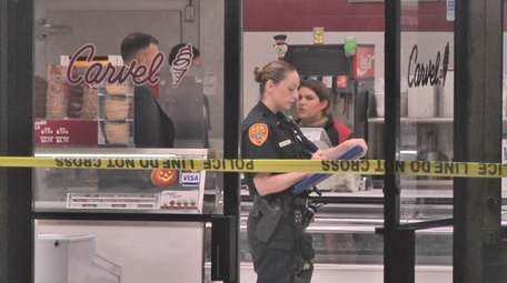 Suffolk County police responded to a Carvel on
