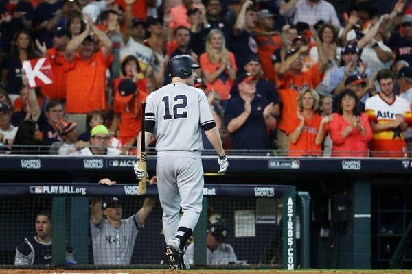 Matt Holliday returns to Yankees' bench for ALCS Game 2