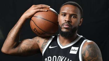 Trevor Booker of the Nets poses for a