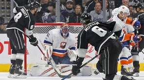 Los Angeles Kings defenseman Jake Muzzin (6) takes