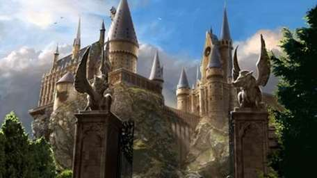 An image of the Hogwarts Castle.