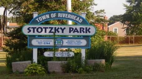 Stotzky Park in Riverhead is shown May 23,