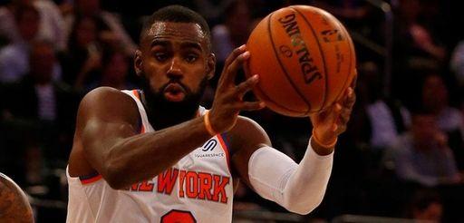 Tim Hardaway Jr. of the New York Knicks