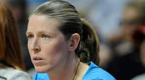 New York Liberty associate head coach Katie Smith
