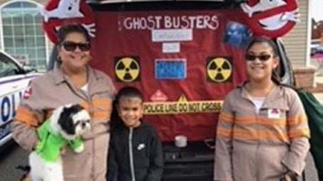 Vanessa Espinal of Brentwood chose a Ghostbusters theme