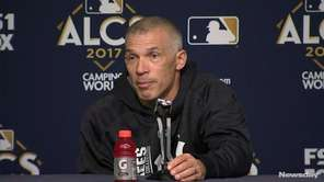 The Yankees and Astros talked about their approach to