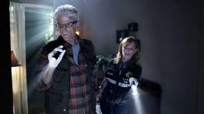 Ted Danson, with Marg Helgenberger, on