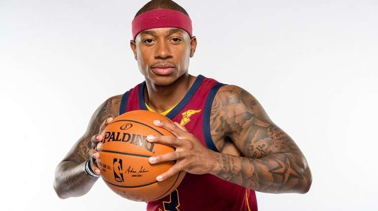 Isaiah Thomas at Cleveland Cavaliers media day