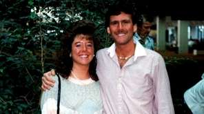 Lisa and Matthew Solomon on their honeymoon