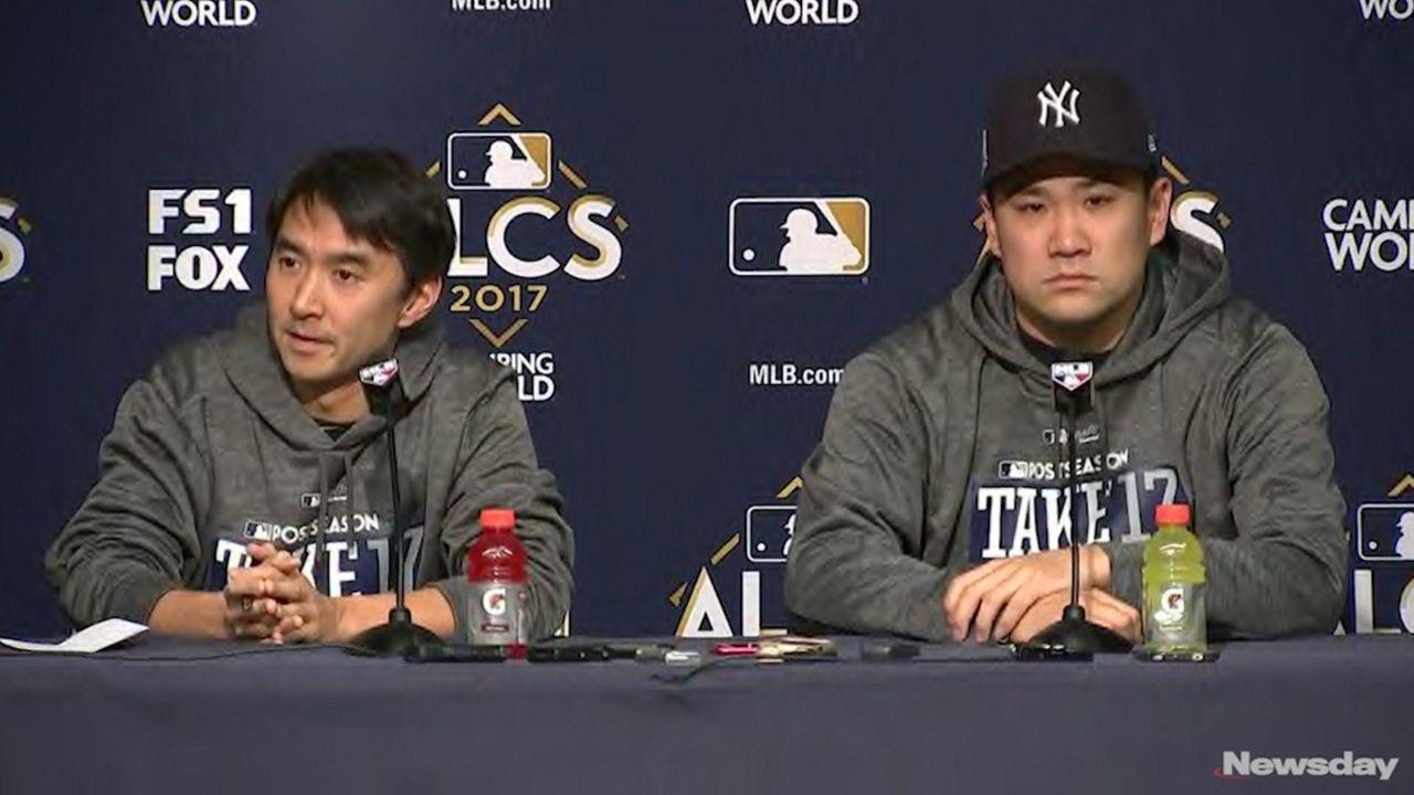 Yankees starting pitcherMasahiro Tanaka is ready for his