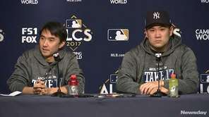 Yankees starting pitcher Masahiro Tanaka is ready for his