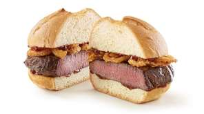 The thick-cut venison sandwiches will go on sale