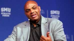 Former NBA player and TV analyst Charles Barkley