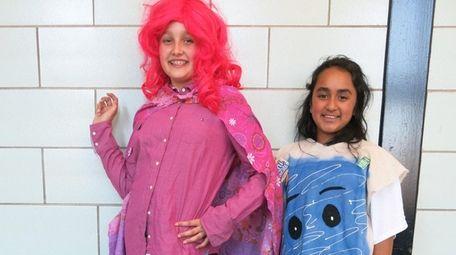 Kidsday reporters Julia Pianko, left, and Yana Parikh