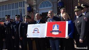 Freeport Mayor Robert Kennedy kicked off the town's